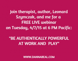 Authentic webinar