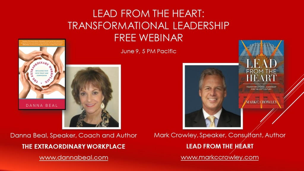 Webinar of Mark C. Crowley and Danna Beal.